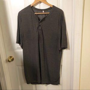 Lululemon Gray Short Sleeve